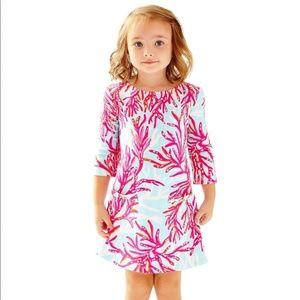 LILLY PULITZER Charlene Girls Shift Dress 4